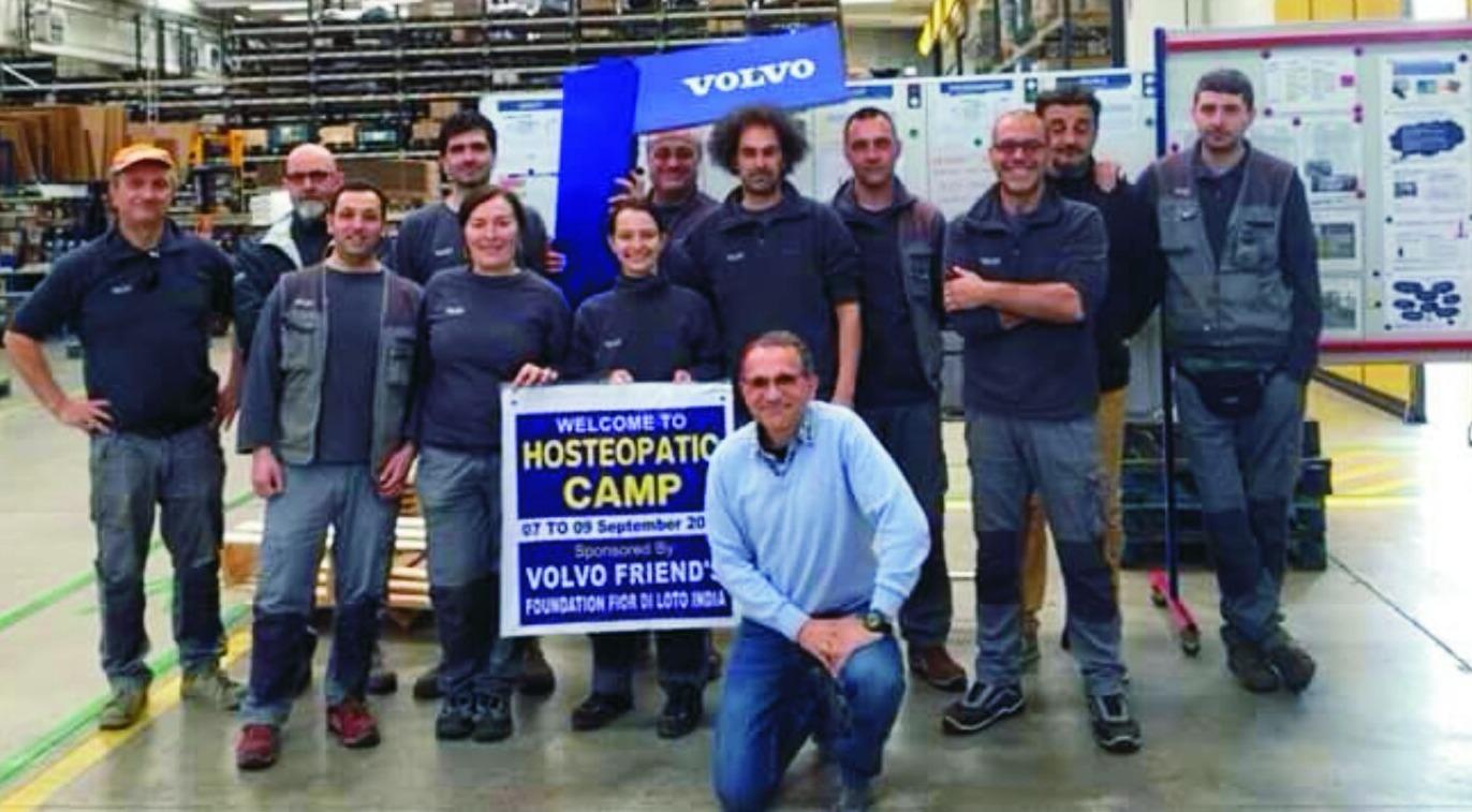 Italy: Volvo Friends Silvia Constantini